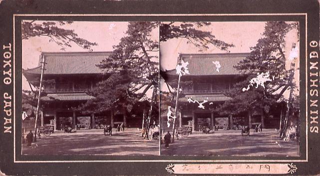 作品画像:芝増上寺山門