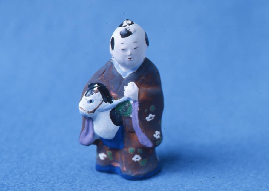 作品画像:今戸人形 春駒