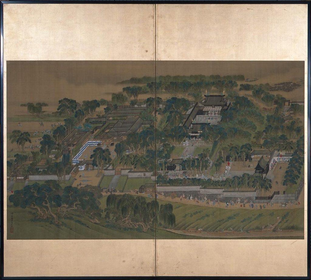 湯島聖堂図