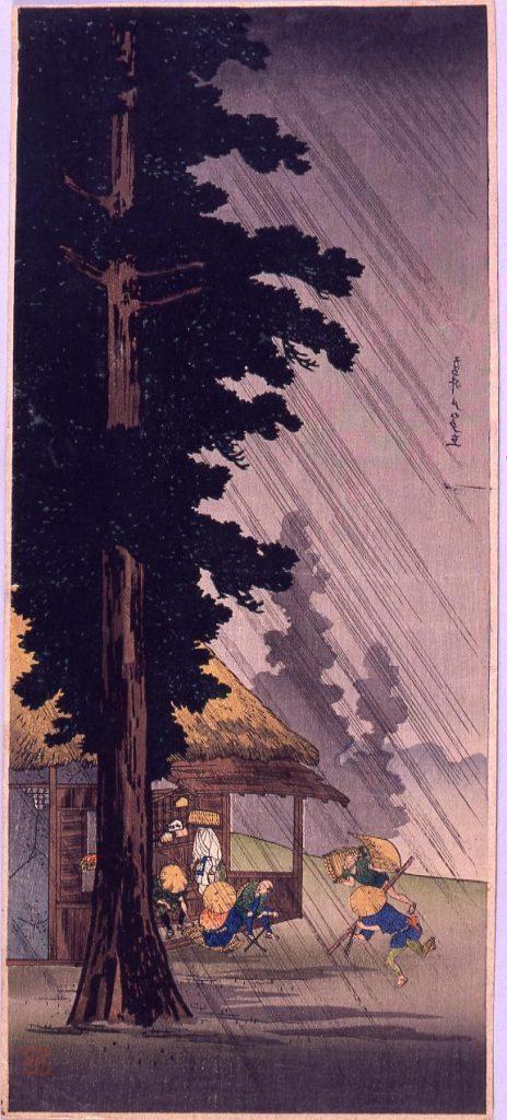 作品画像:高井戸の夕立