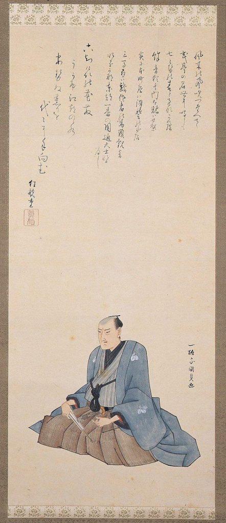 作品画像:式亭三馬肖像