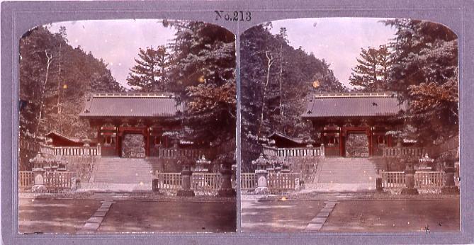 作品画像:日光東照宮仁王門(No.213)