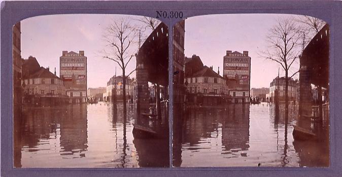 作品画像:パリ、大洪水(二)(1910年1月)(No.300)