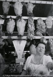 作品画像:ローマ・市場にて