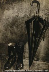作品画像:(長靴と傘)