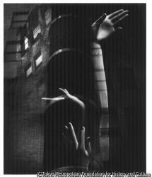 作品画像:手と機械