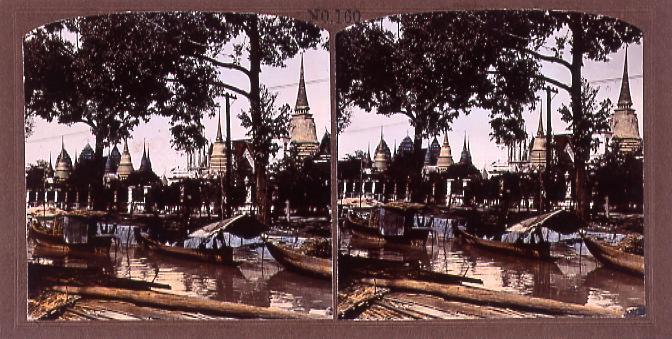 作品画像:暹羅国寺院(No.160)