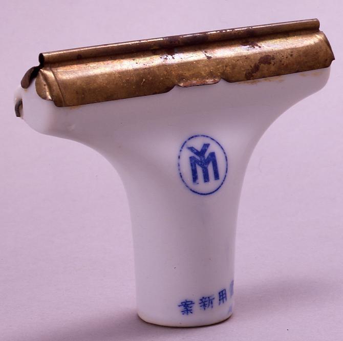 陶製毛糸伸ばし器