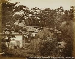 作品画像:イギリス公使館の土地の一部、江戸