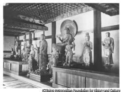 作品画像:法隆寺 彌陀大日梵天帝釈天等像