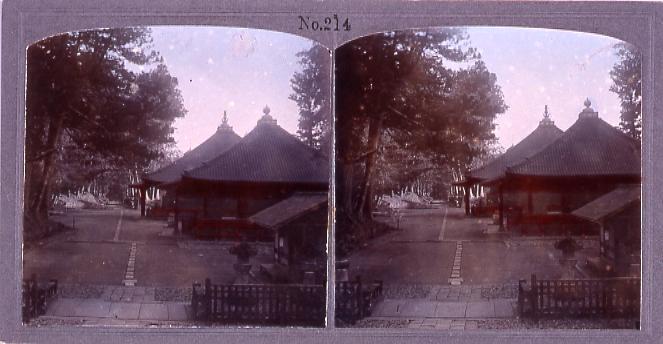 作品画像:日光東照宮二ツ堂(常行堂・法華堂)(No.214)