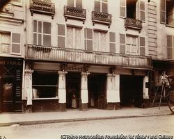 作品画像:第一帝政様式の住宅と店舗、テュレンヌ通り67番地
