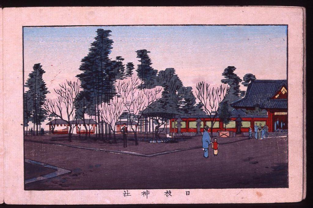 作品画像:日枝神社