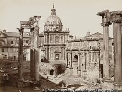 作品画像:ジュピター・トナン神殿とセプティム・セヴェールのアーチ