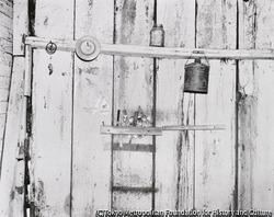 作品画像:台所の壁、アラバマ農場