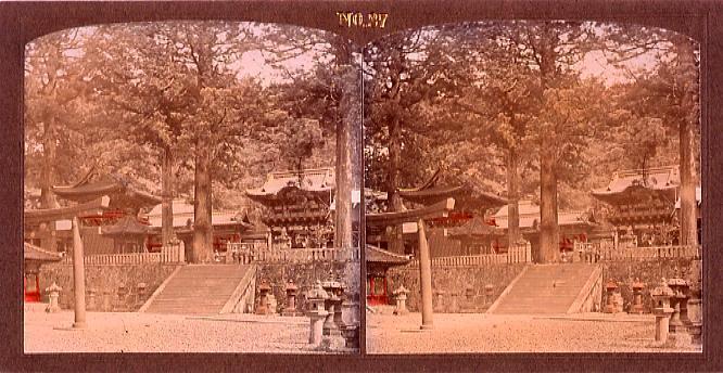 作品画像:日光東照宮陽明門前(No.27)