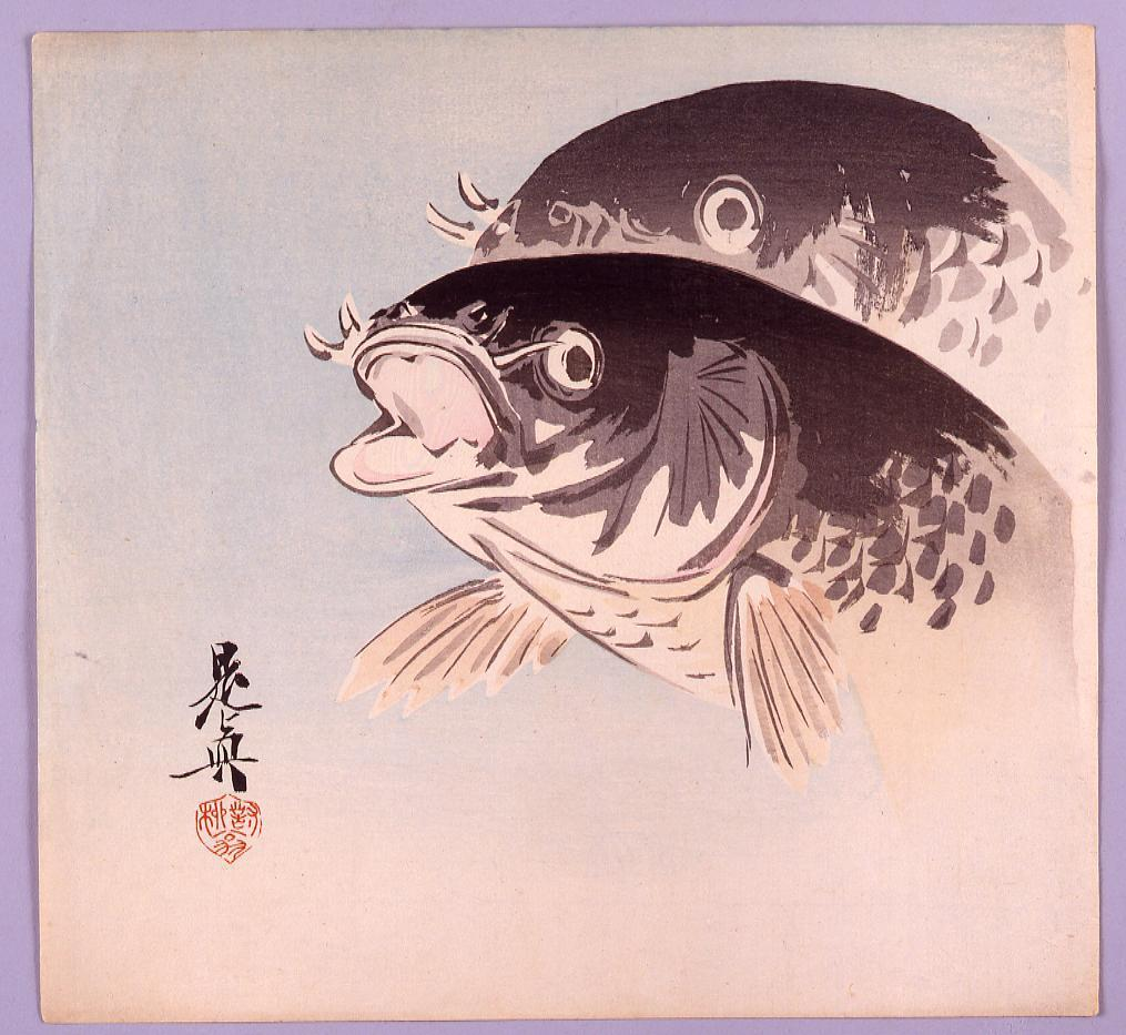作品画像:鯉図