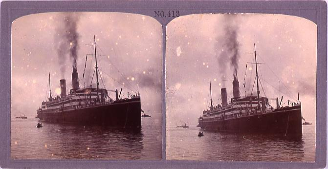 作品画像:東洋汽船地洋丸(No.413)