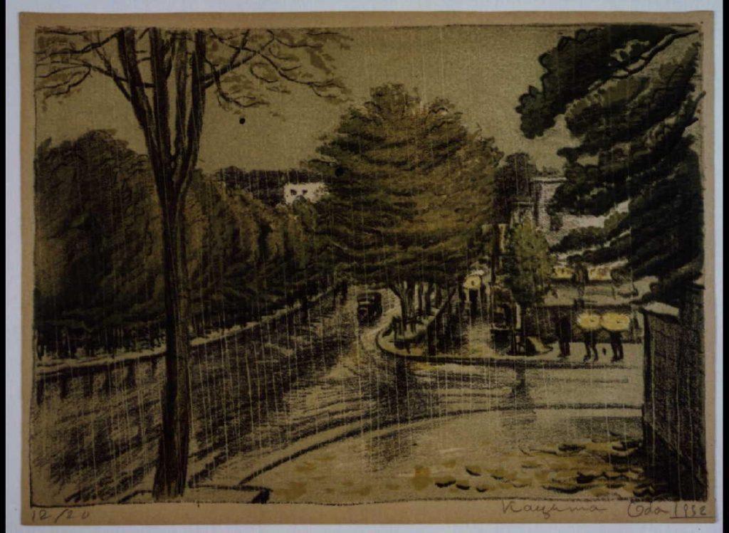 作品画像:東京新近郊八景 4 明治神宮表参道