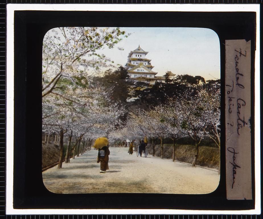 作品画像:兵庫 姫路城(幻燈原板)