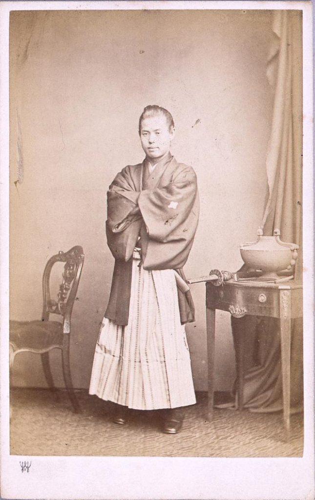 作品画像:慶応元年遣欧使節肖像写真 福地源一郎