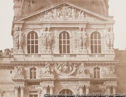 作品画像:ルーヴル宮殿