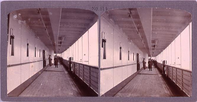 作品画像:東洋汽船地洋丸甲板(No.414)