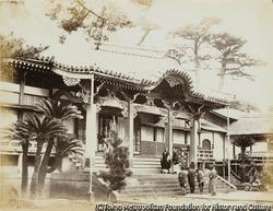作品画像:長崎の現地人街、大音寺(大光寺)