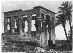 作品画像:フィラエ島の神殿、ヌビア