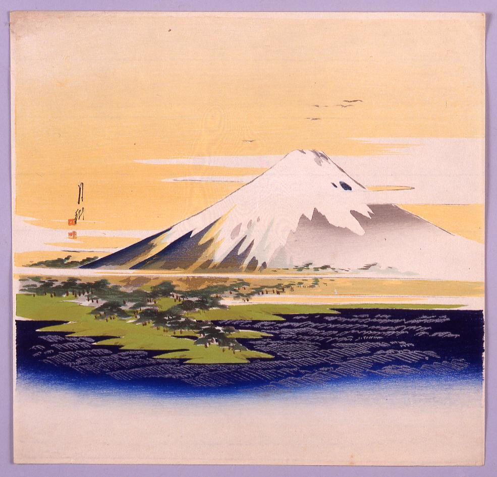 作品画像:富士山図