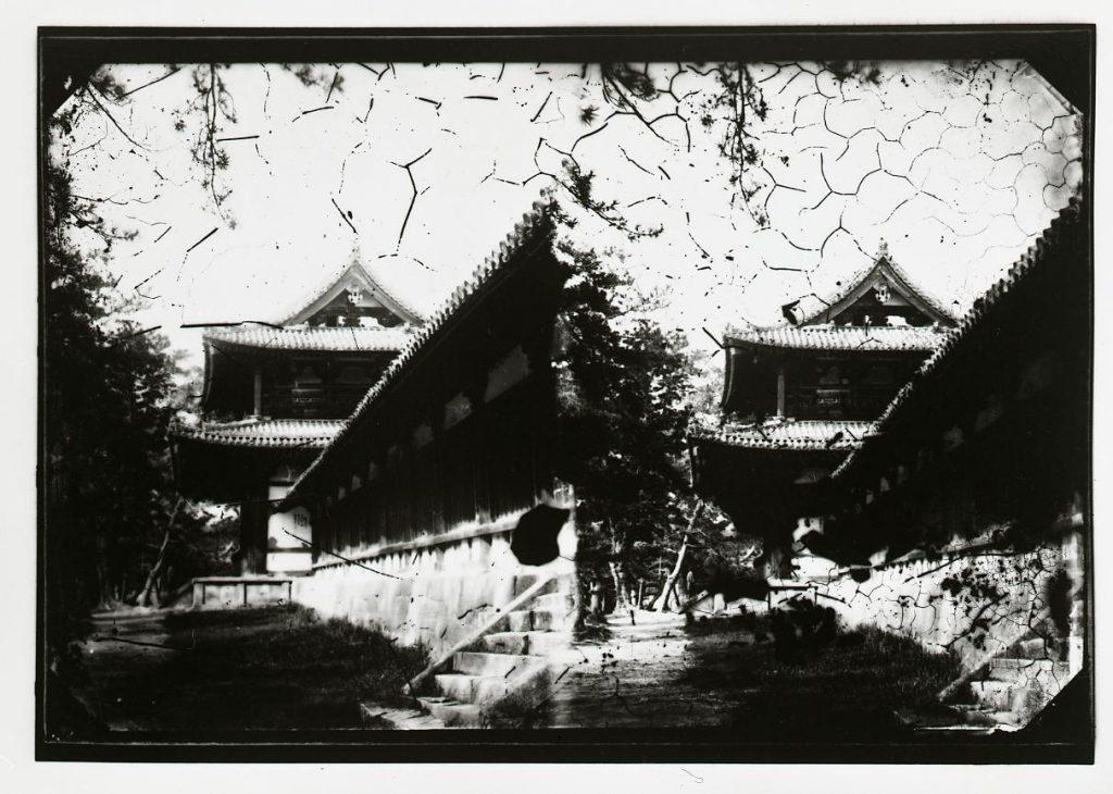 作品画像:法隆寺 中門