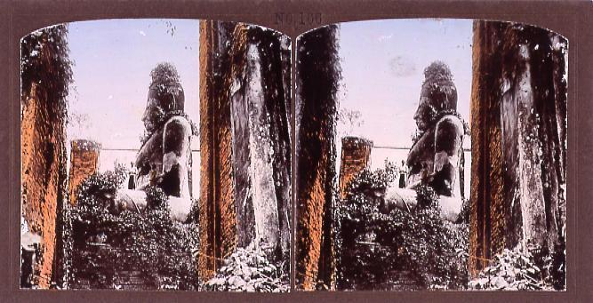 作品画像:暹羅国大仏(No.166)