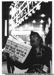 作品画像:新聞売り、ロスアンゼルス