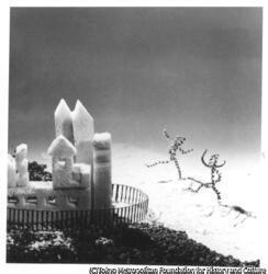 作品画像:雪のお城