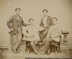 作品画像:松平忠直と三人の男