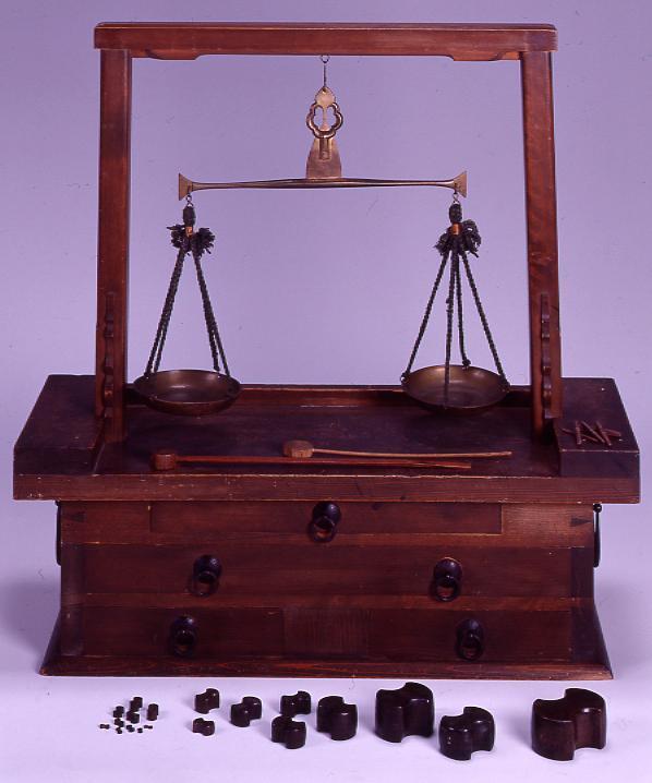 作品画像:両替屋の天秤