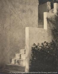 作品画像:白い階段