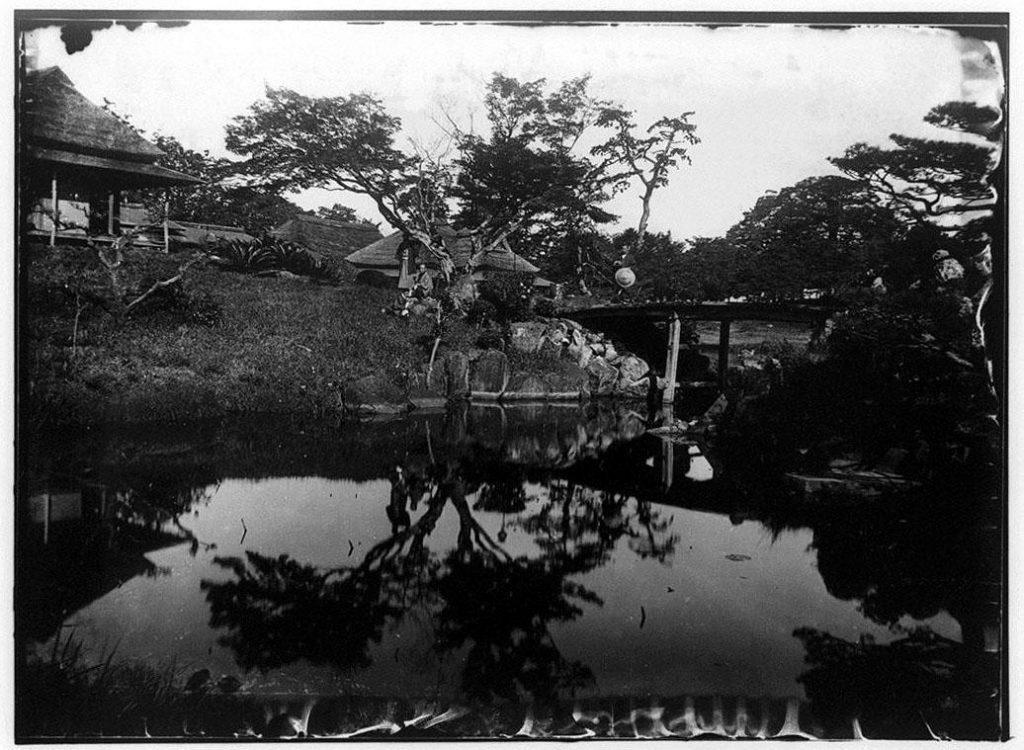 作品画像:八景亭庭園