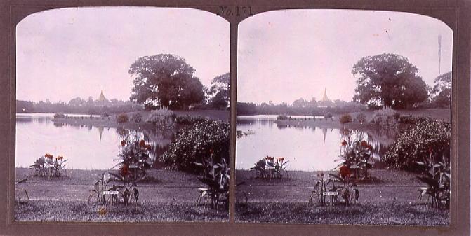 作品画像:「ローヤル」湖畔(No.171)