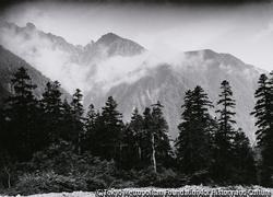 作品画像:飛騨側から見た日本アルプス