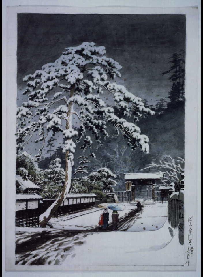 作品画像:池上本門寺 原画