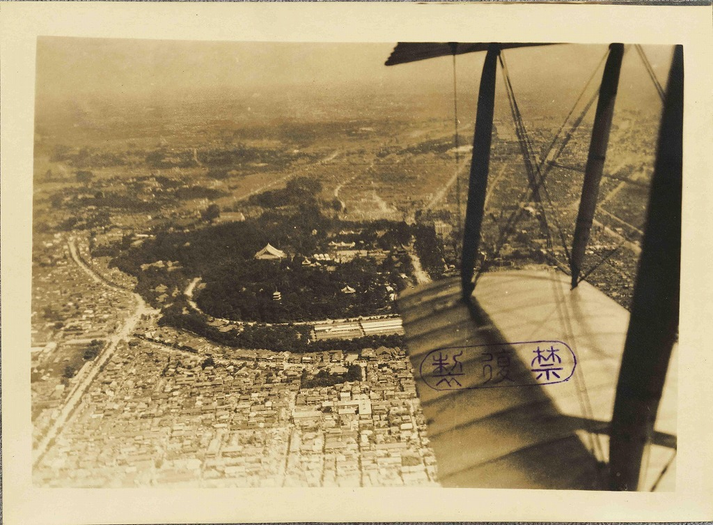 作品画像:関東大震災直後の航空写真