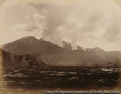 作品画像:磐梯山・噴口遠望