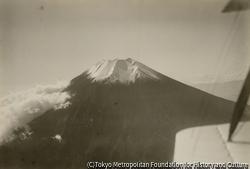 作品画像:空撮 富士山