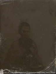作品画像:小島呉一郎の妻「とを」肖像写真
