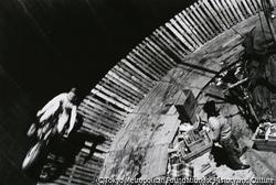 作品画像:靖国神社大祭・オートバイ曲乗り