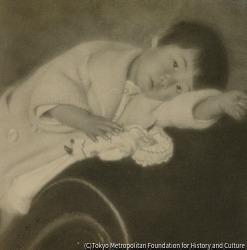 作品画像:子供の像