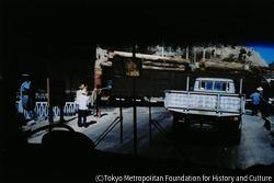 作品画像:日本河川開発調査会による調査で。バスからの光景