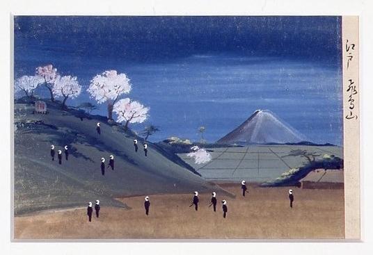 作品画像:泥絵 江戸飛鳥山