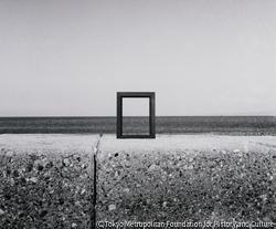 作品画像:海辺にて・境港